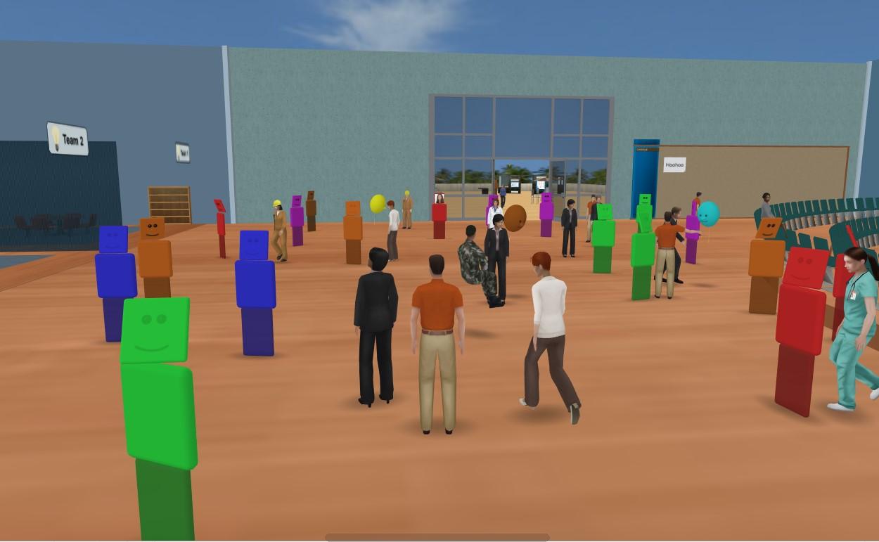 Digital marketing place - virtual events